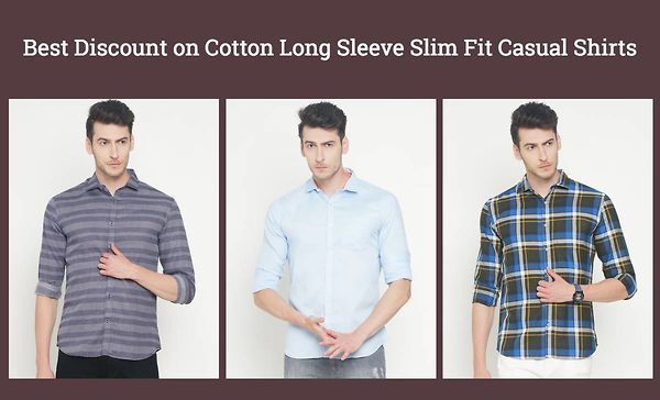 best-discount-on-cotton-long-sleeve-slim-fit-casual-shirts