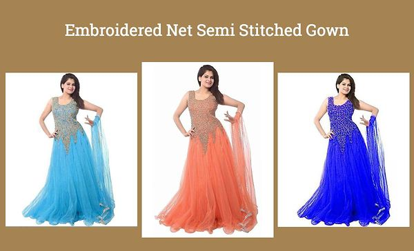 embroidered-net-semi-stitched-gown