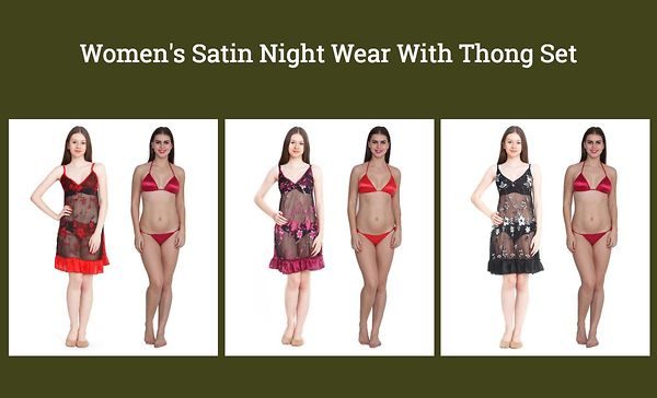 women-s-satin-night-wear-with-thong-set