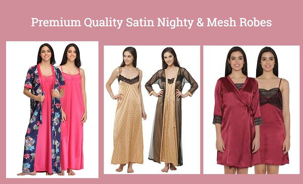 premium-quality-satin-nighty-mesh-robes