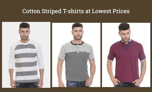 cotton-striped-t-shirts-at-lowest-prices