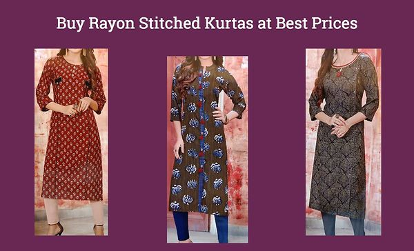 buy-rayon-stitched-kurtas-at-best-prices