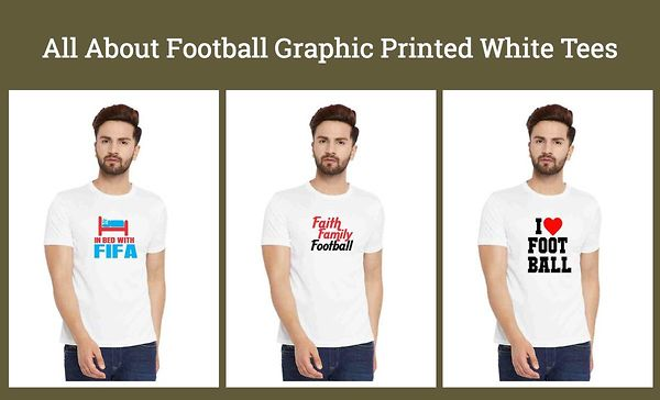 all-about-football-graphic-printed-white-tees