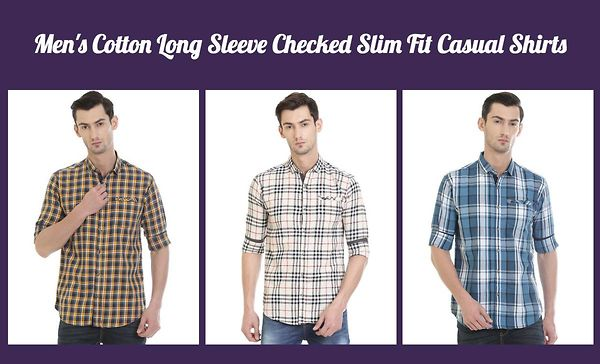 men-s-cotton-long-sleeve-checked-slim-fit-casual-shirts