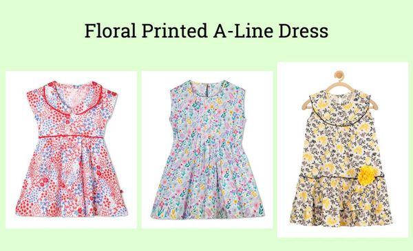 floral-printed-a-line-dress