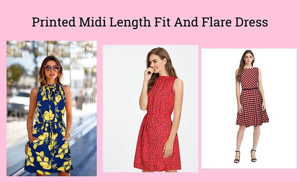 printed-midi-length-fit-and-flare-dress