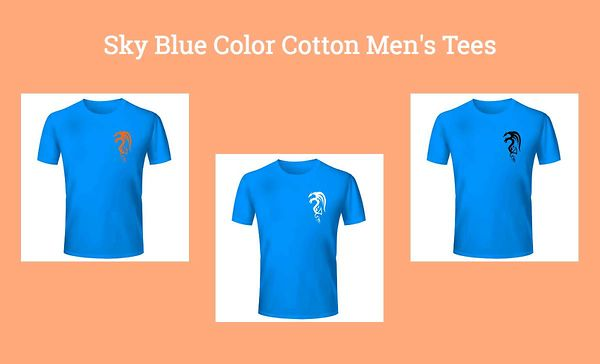 sky-blue-color-cotton-men-s-tees