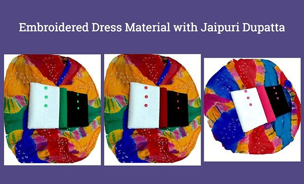 embroidered-dress-material-with-jaipuri-dupatta