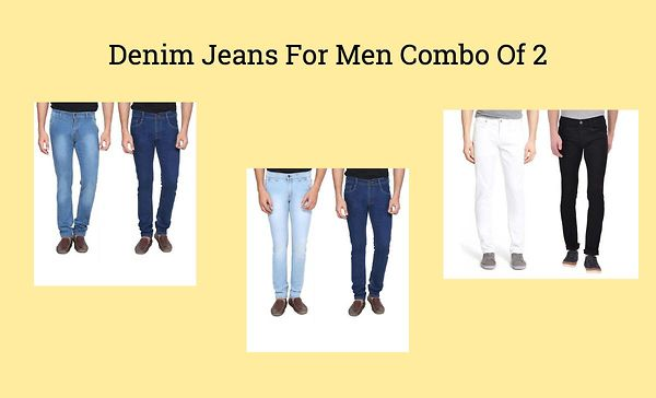Denim Jeans For Men Combo Of 2
