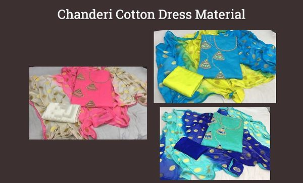 chanderi-cotton-dress-material