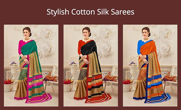 stylish-cotton-silk-sarees