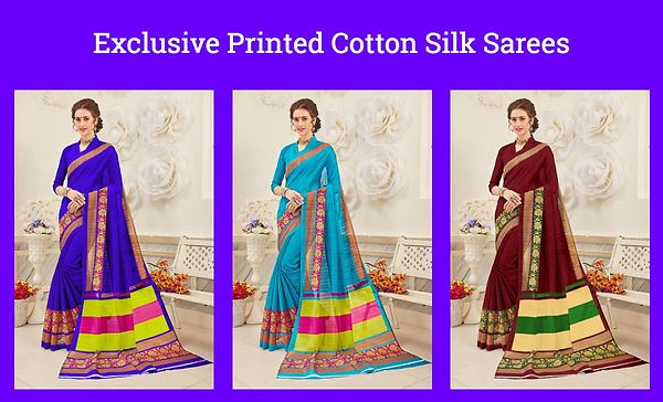 exclusive-printed-cotton-silk-sarees