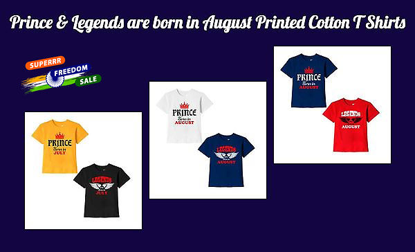 prince-legends-are-born-in-august-printed-cotton-t-shirts