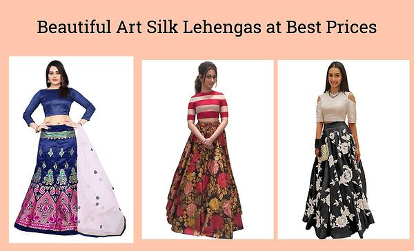 beautiful-art-silk-lehengas-at-best-prices