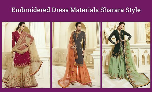 embroidered-dress-materials-sharara-style