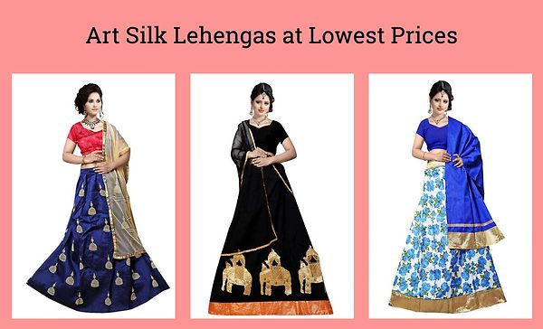 art-silk-lehengas-at-lowest-prices