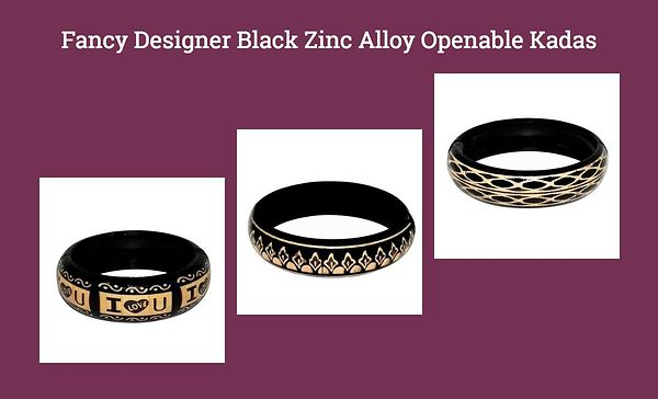 fancy-designer-black-zinc-alloy-openable-kadas