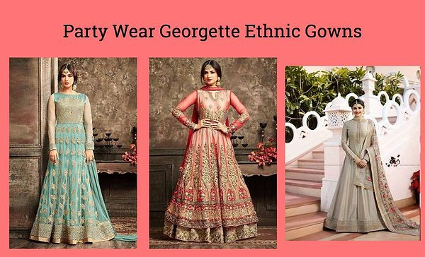party-wear-georgette-ethnic-gowns