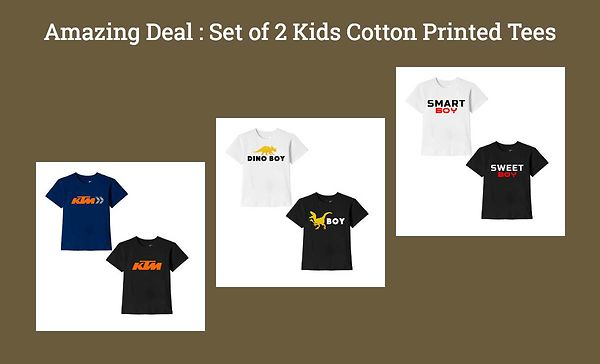 amazing-deal-set-of-2-kids-cotton-printed-tees