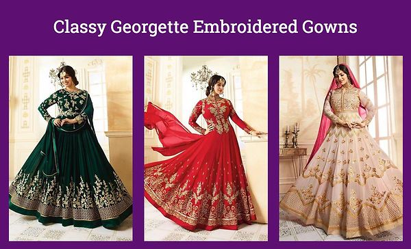 classy-georgette-embroidered-gowns