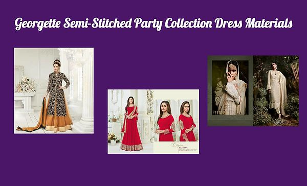 georgette-semi-stitched-party-collection-dress-materials