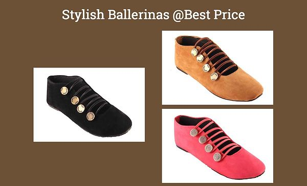 Stylish Ballerinas @Best Price