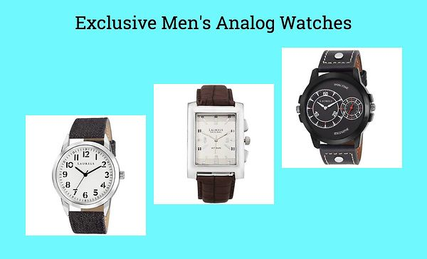 Exclusive Men's Analog Watches