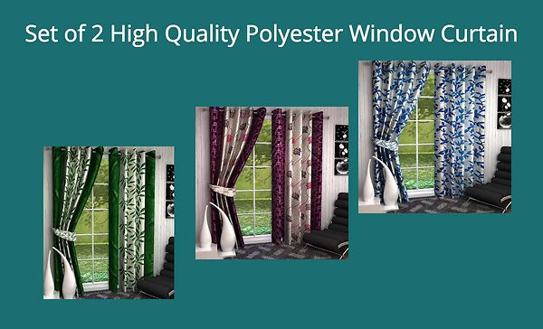 set-of-2-high-quality-polyester-window-curtain