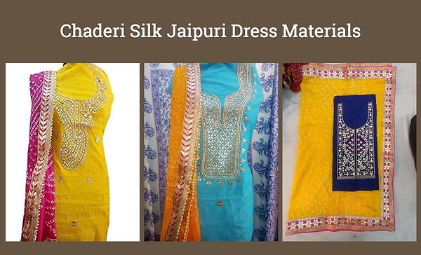 chaderi-silk-jaipuri-dress-materials