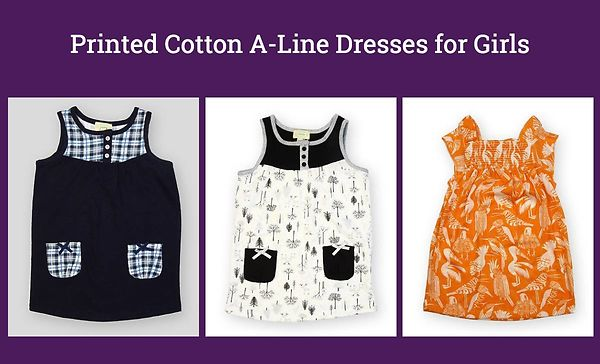 printed-cotton-a-line-dresses-for-girls