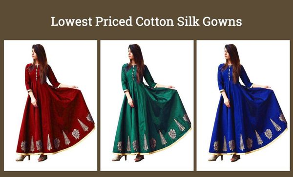 lowest-priced-cotton-silk-gowns