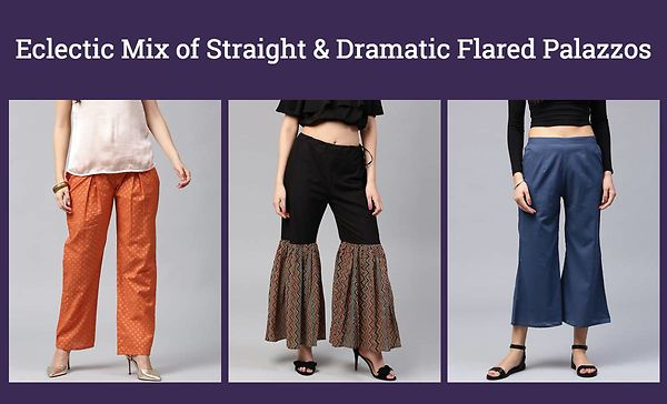 eclectic-mix-of-straight-dramatic-flared-palazzos