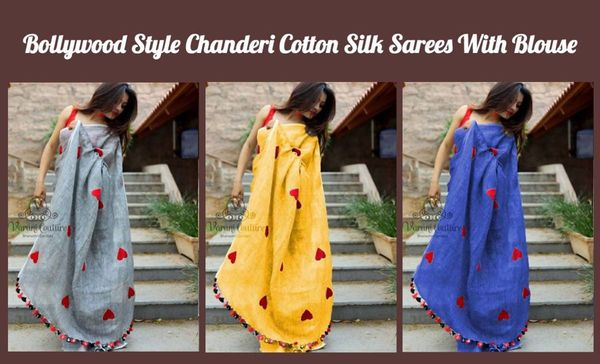 bollywood-style-chanderi-cotton-silk-sarees-with-blouse