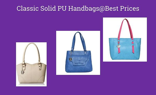 classic-solid-pu-handbags-best-prices