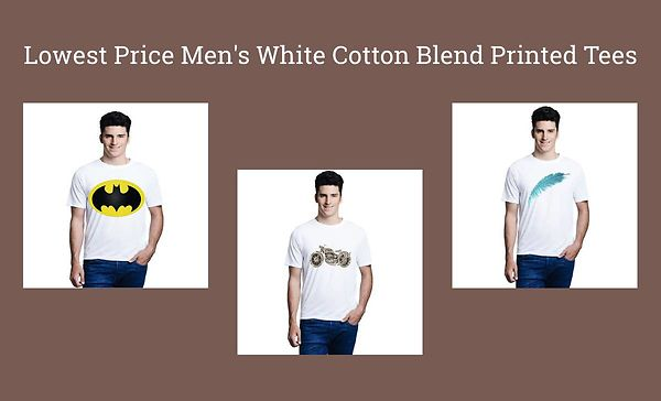 lowest-price-men-s-white-cotton-blend-printed-tees