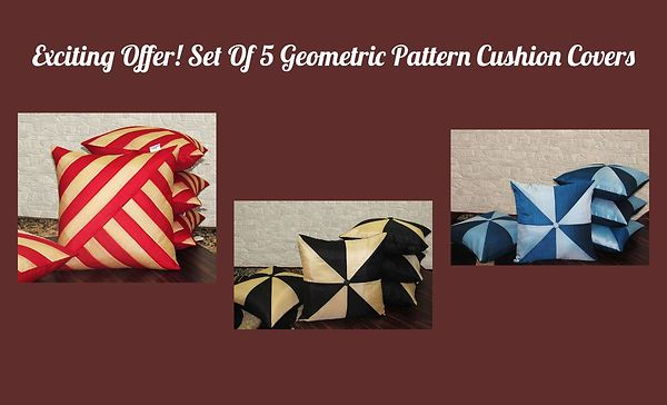 exciting-offer-set-of-5-geometric-pattern-cushion-covers