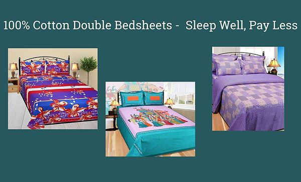 100-cotton-double-bedsheets-sleep-well-pay-less