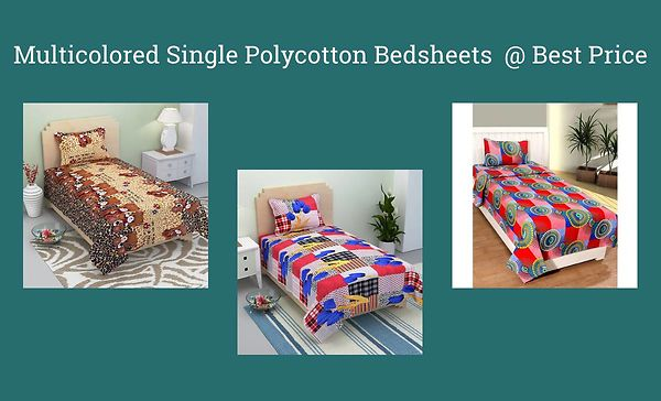 multicolored-single-polycotton-bedsheets-best-price