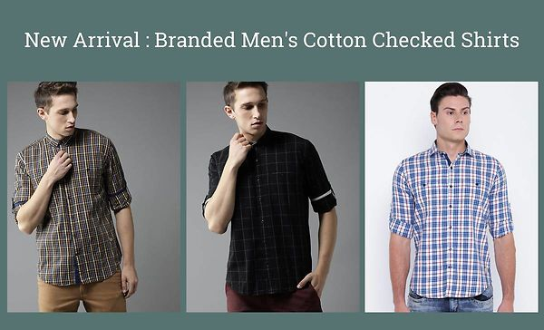 new-arrival-branded-men-s-cotton-checked-shirts