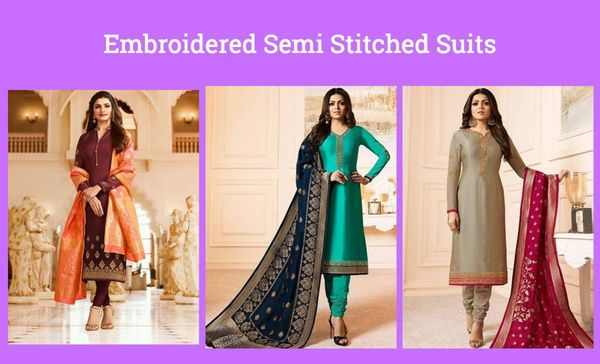 embroidered-semi-stitched-suits