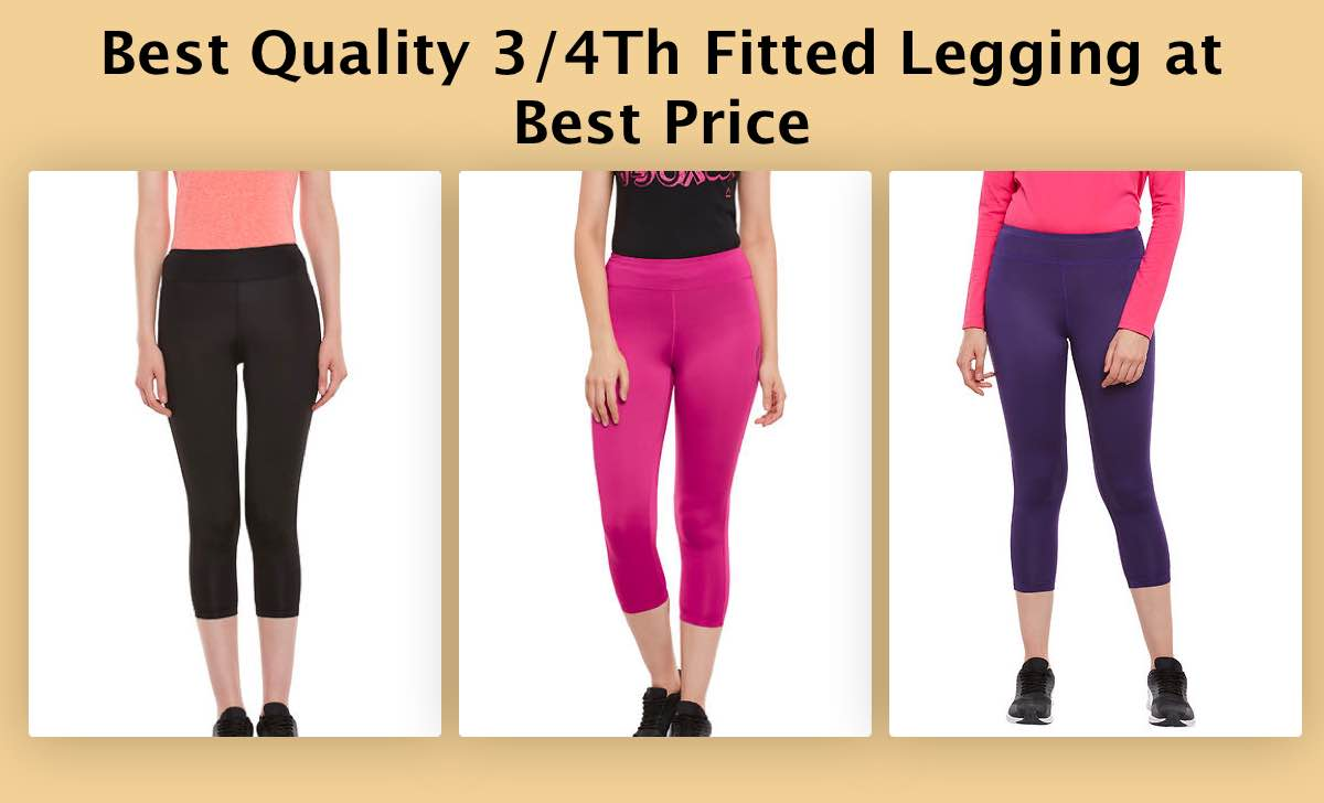 best-quality-3-4th-fitted-legging-at-best-price