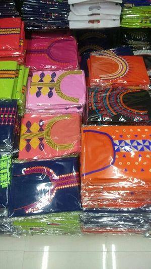 Semi stitched kurthi material