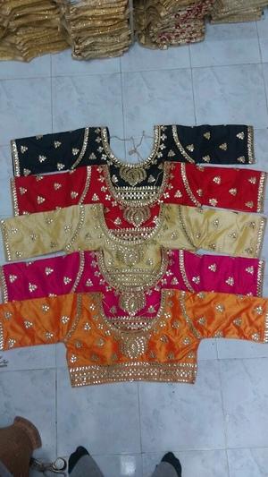 Gota Patti designer ready blouse