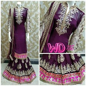 Beautiful Gorgette Sharara Suits WD385