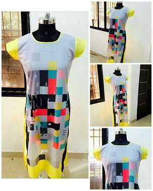 selfie kurtis ....... L and XL Size available