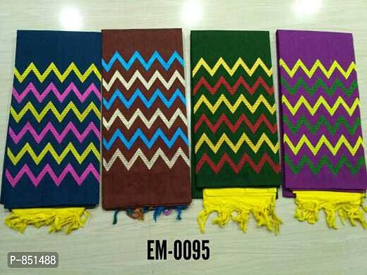 Handloom Embroidery dress material