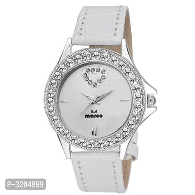 Synthetic Strap Watch For Women