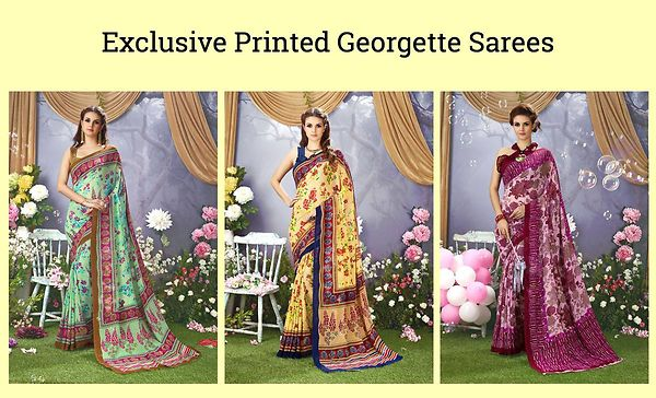 exclusive-printed-georgette-sarees