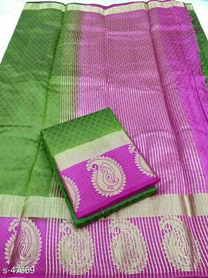 *Embossed Tussar New Colors*