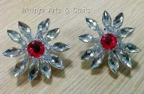 Quilled ear studs
